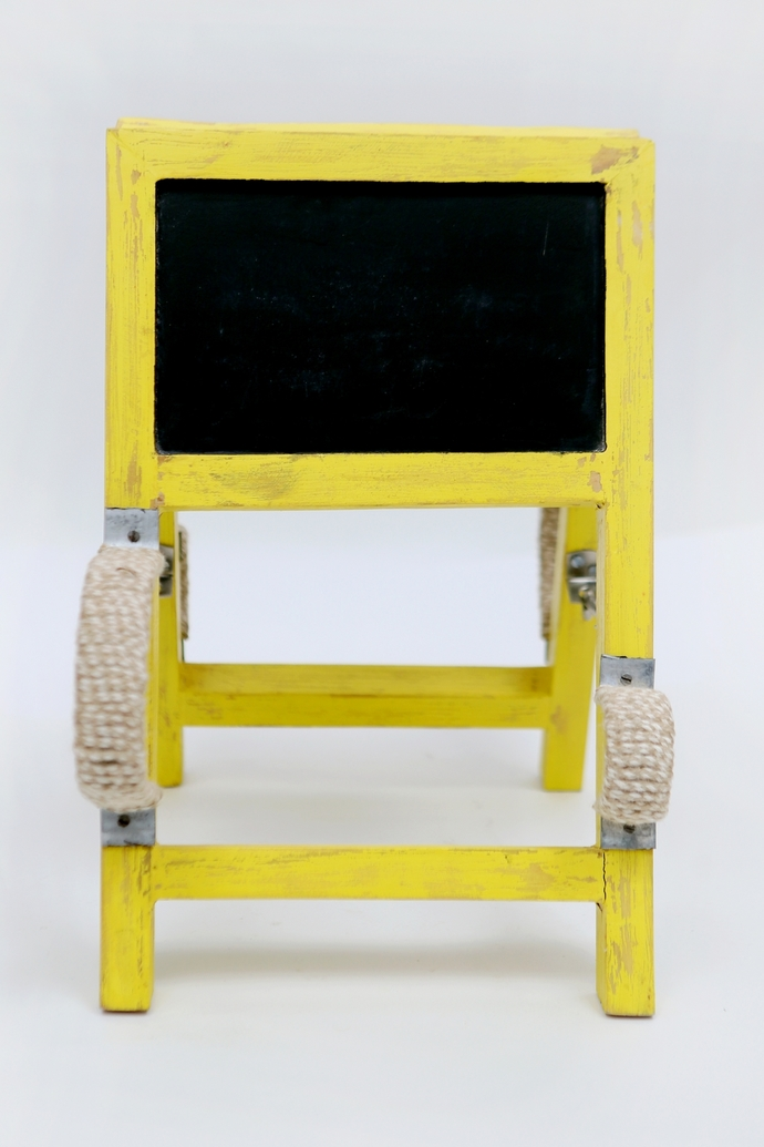 Ladder Wineholder (Yellow) Table Ware By Desi Jugaad