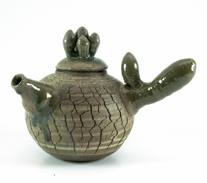 The Teapots by Milan SIngh, Decorative Sculpture | 3D, Ceramic, White color