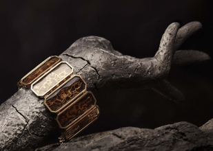 Maya Cuff by Nine Vice, Art Jewellery Bracelet