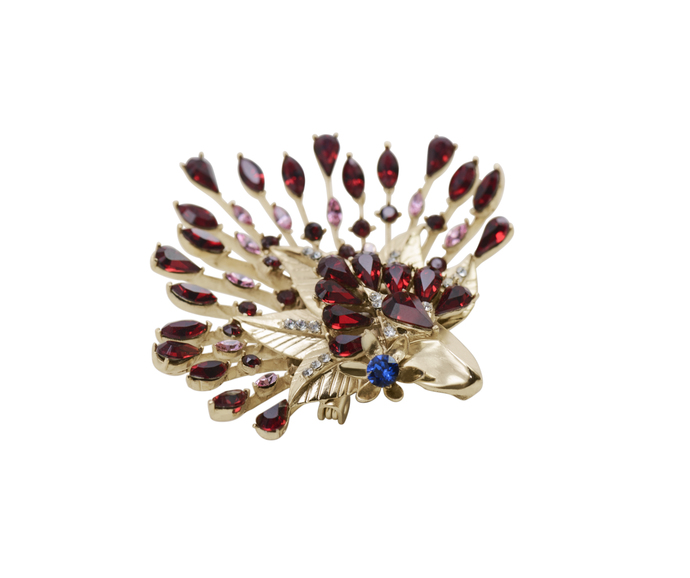 Mystery Brooch in Swarovski by Nine Vice, Art Jewellery Brooch