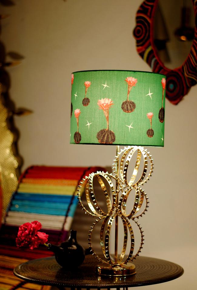Cactus lamp by sahil   sarthak  pink
