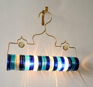 Thief of Baghdad Choori Lamp : Underwater Blue Wall Decor By Sahil & Sarthak