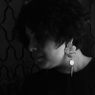 Ahalya by Chicory Chai, Art Jewellery Earring
