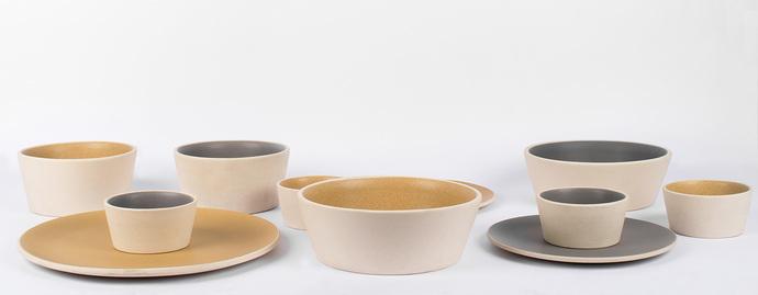 Basik Bowl Medium [Yellow] Kitchen Ware By Rayden Design Studio