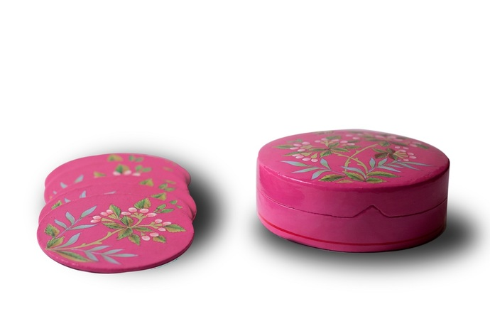 Almond Coaster Set By Eclectic Elan