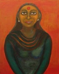 Women Series WS06 by Aradhna Tandon, , , Brown color