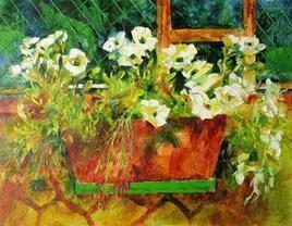 Petunia-3 by Swati Kale, , , Green color