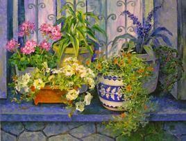 Harmony In Garden by Swati Kale, , , Green color