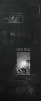 Life Corner 2007 by Shrikant Kolhe, , , Gray color
