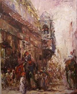 Wada by Dinkar Jadhav, , , Brown color
