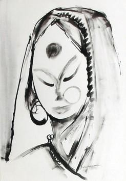 Innocent Magic by Aditya Dev, , , Gray color