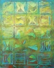 Untitled-9 by Gayatri Deshpande, , , Green color