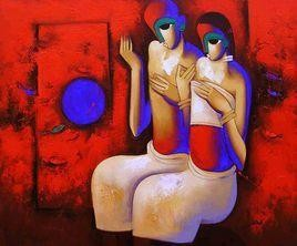 Music-068 by Arvind Kolapkar, , , Red color