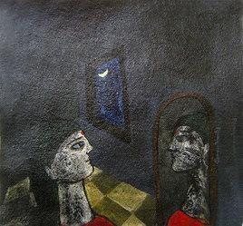 From The Window Light by Sambuddha Duttagupta, , , Gray color