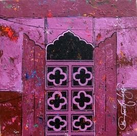 Window -11 by Suresh Gulage, , , Purple color