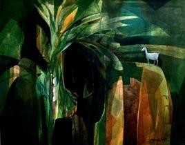 Top Of The World by Pradip Sengupta, , , Green color