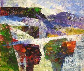 Mindscape - 7 by Sunil Kale, , , Brown color