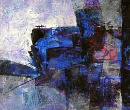 Mindscape - 8 by Sunil Kale, , , Blue color
