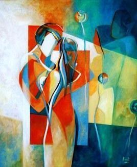 Together by Ella Prakash, , , Green color