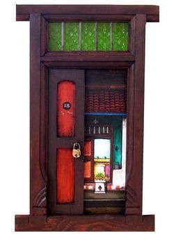 Door - 25 by K R Santhanakrishnan, , , Brown color