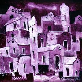 Village- 211 by Suresh Gulage, , , Purple color