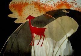 The Red Goat by Pradip Sengupta, , , Brown color