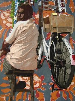 Untitled by Sohan Jakhar, , , Brown color