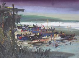 Konkan Seascape - 15 by Sunil Kale, , , Gray color