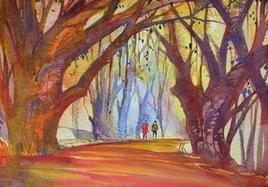 Street Scene - 2 by Sunil Kale, , , Brown color
