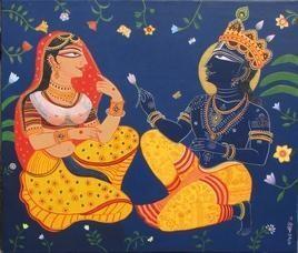 Kunjobon 1 by Bhaskar Lahiri, , , Blue color
