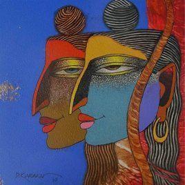 Ram Laxman by Dayanand Kamakar, , , Brown color