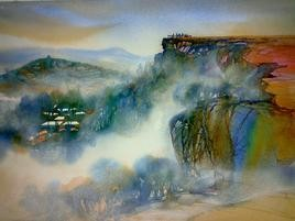 Panchgani - 5 by Sunil Kale, , , Green color