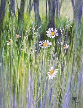 Wild Beauty - 10 by Swati Kale, , , Beige color