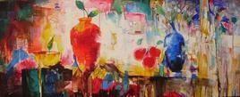 Still-life 2 by Dinkar Jadhav, , , Brown color