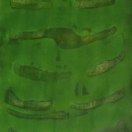 Untitled 126 by Mahesh Jagtap, Painting, Watercolor on Paper, Green color