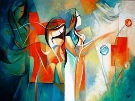 Letting Go by Ella Prakash, , , Beige color