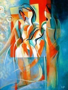 Hasya by Ella Prakash, , , Beige color