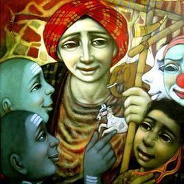 Toys Seller by Apet Pramod Mahadev, , , Green color