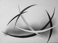 Imitative by Deviba Wala, Minimalism, Minimalism Painting, Acrylic on Canvas, Gray color