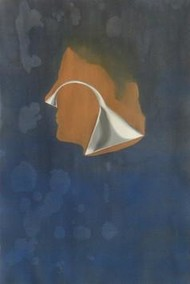 Untitled 10 by Sachin Shinde, Painting, Gouache on Paper, Blue color