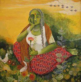 Bliss! by Jayshree P Malimath, , , Brown color