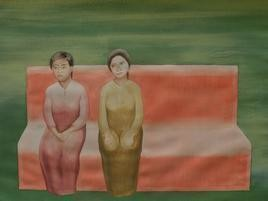 Untitled by Smita Shinde, Painting, Gouache on Paper, Brown color