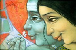 Love by Apet Pramod Mahadev, , , Beige color