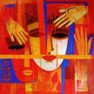 Nautanki X by Chaitali Mukherjee, , , Red color