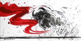 Bull-1 by Shekhar Ballari, , , Gray color