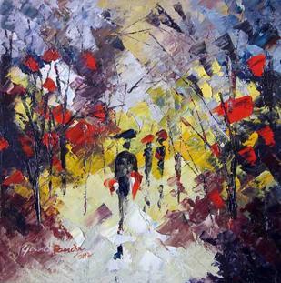 Landscape 05 by Ganesh Panda, , , Brown color