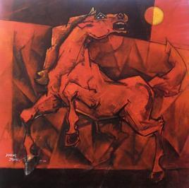 Charging Ahead by Dinkar Jadhav, , , Brown color