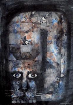Hunter 1 by Jayavanth Shettigar, , , Gray color