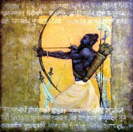 Drona by Avik Chakraborty, , , Beige color