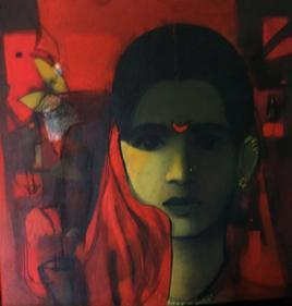 Face 3 by Sachin Sagare, , , Brown color